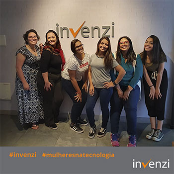 Invenzi Women's Team already represents 50% of our technical staff
